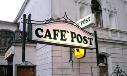 Cafe post